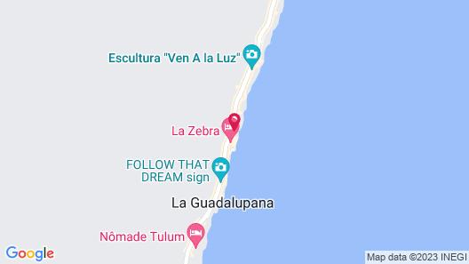 Kanan Tulum - Adults Only Map