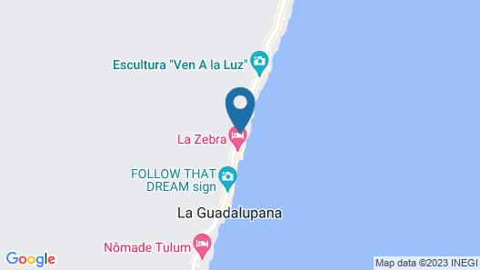 Nueva Vida de Ramiro Map