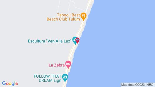 Delek Tulum Map