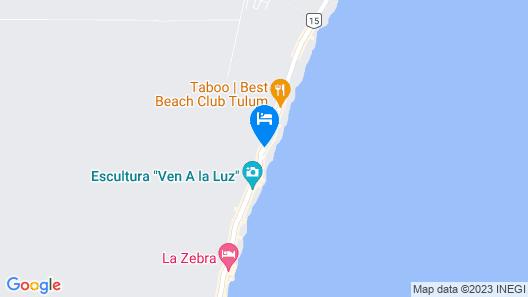 Selina Tulum Map
