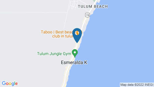 Ana y Jose Hotel & Spa Tulum Map