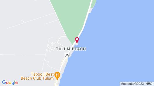 Maya Tulum Resort - Wellness & Retreat Map