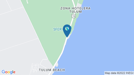 Hotel Calaluna Tulum - Adults Only Map