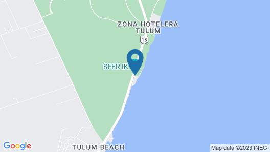 Azulik Map