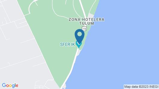 Papaya Playa Project Map