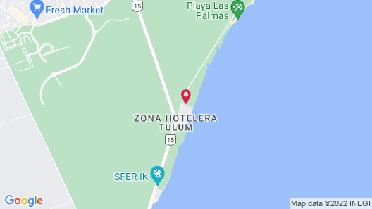 Kore Tulum Retreat and Spa Resort -Adults Only-All Inclusive Map