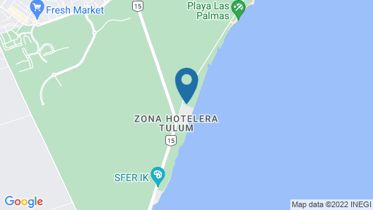 Kore Tulum Retreat and Spa Resort - All Inclusive - Adults Only Map