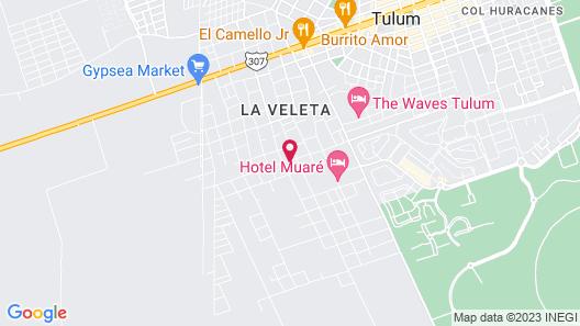 Cacao Tulum -Luxury Condos- Map
