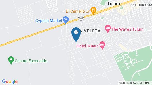 Hotel Luna Llena Map