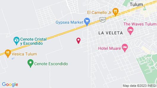 Hotel Holistika Map