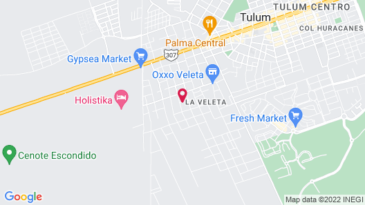 Amaka Calma Riviera Tulum Map
