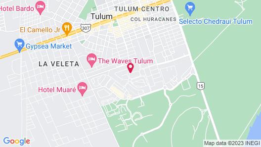 Azul Tulum by GuruHotel Map