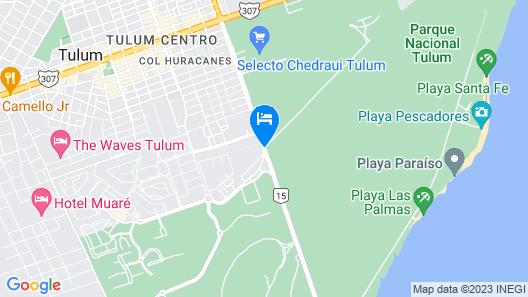 Naala Tulum Map