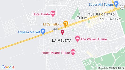 Mudra Tulum Map