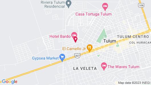 Hotel Bardo Map