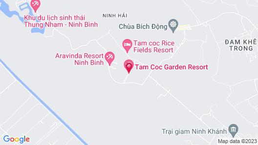 Tam Coc Garden Map