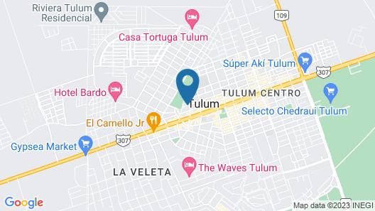 Secret Garden Tulum Map