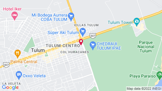Elements Tulum Boutique Hotel Map