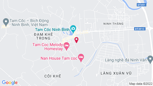 Tam Coc Rice Fields Homestay Map