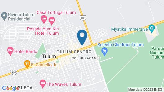 Che Tulum Hostel & Bar Map