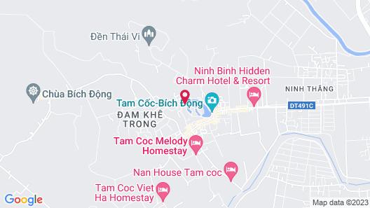 King Kong Homestay Map