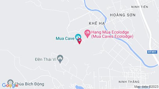 Hang Mua Homestay - Hostel Map