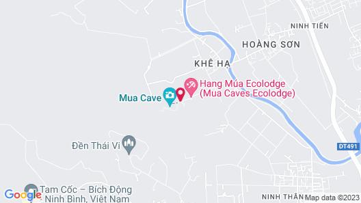 Hang Mua Central Homestay Map