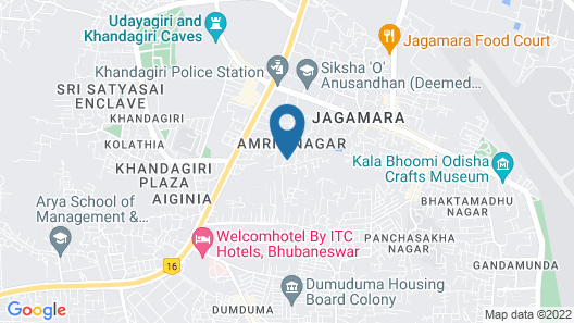 Welcomhotel by ITC Hotels, Bhubaneswar Map