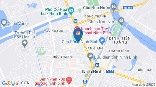 Ngoc Anh Legend Hotel Map