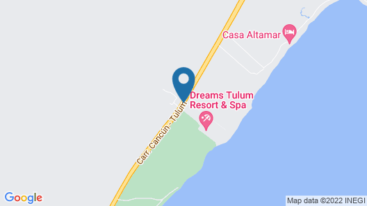 Dreams Tulum Resort & Spa Map