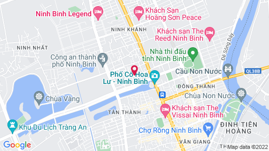 Victoria Hotel Ninh Binh Map