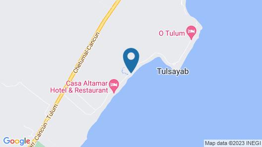 Cielo Maya Beach Tulum Map