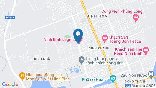 Ninh Binh Legend Hotel Map