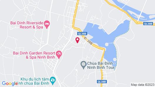 Ninh Binh Family Homestay Map