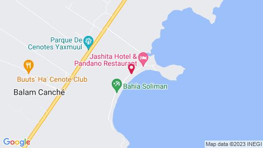 Tulum Luxury Collection Map