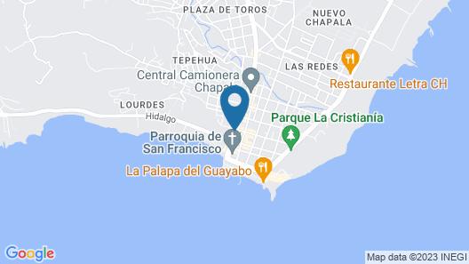 Plaza Chapala Hotel Map
