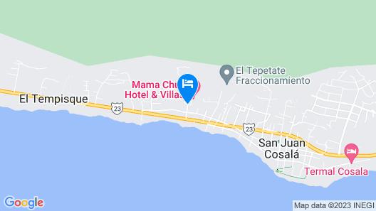 Mama Chuy Hotel & Villas Map