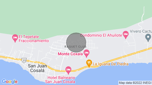 UNIQUE BRAND NEW HOUSE IN RAQUET CLUB  Map