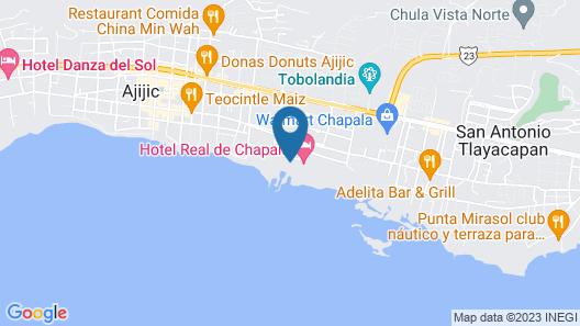 Nimue Marina Residence & Hotel Boutique Map