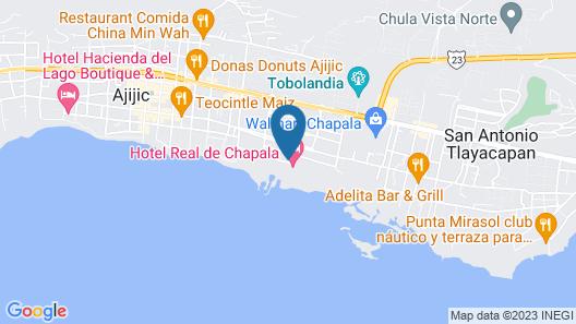 Hotel Real de Chapala Map