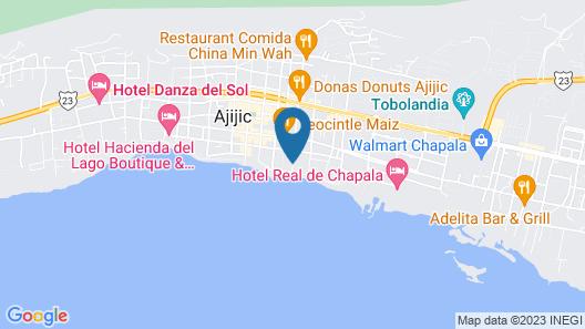 Hotel La Nueva Posada Map
