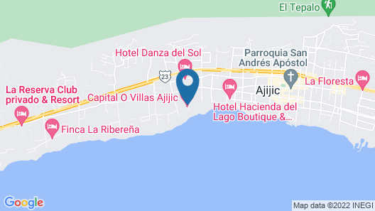 Capital O Villas de Ajijic Map