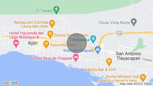 Hermosa Casa en Ajijic con Alberca Map