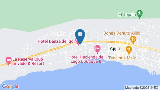 Hotel Danza del Sol Map