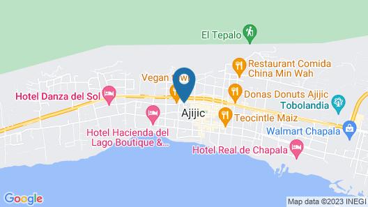 Casa Flores Bed & Breakfast Map