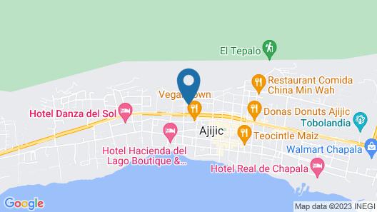 Hotel Lindo Ajijic B&B Map