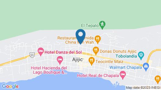 Donaire Hotel Boutique Map