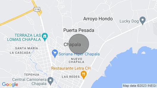 LA CASA ES MUY COMODA CENTRICA Y A LA VEZ CAMPESTRE PARA UN BUEN DESCANSO  Map