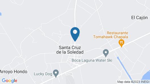 Finca Ybarra Casa de Campo Map