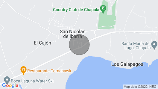 Mexican Escape, Golf, swim and relax Map